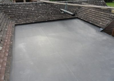 Flat Rubber Roof