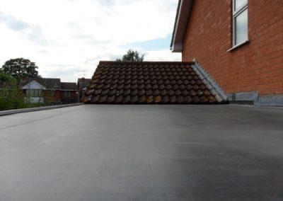 large flat roof Gateshead (1)