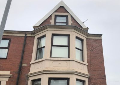 Rubber roof  on bay window gateshead